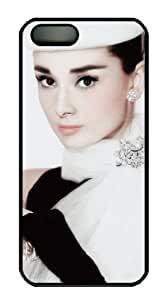 Audrey Hepburn Pop Star Art IPhone 5 5s Case, Unique Designer Audrey Hepburn Pop Star Art Hard Case Covers For Apple iPhone 5 5s