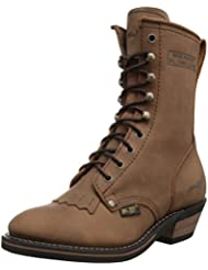 Adtec Womens 8 Packer Tan Work Boot