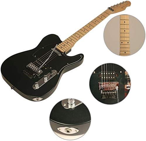 ZUWEI Semi Hollow Body Electric Guitar with Floyd Rose Special Bridge