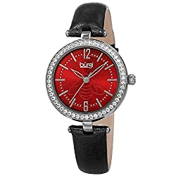 Women's CZ Stone Studded Case Designer Watch