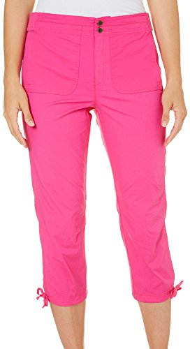 s Military Capris, Cereza Pink, Size 6 (Pink Caribbean House)
