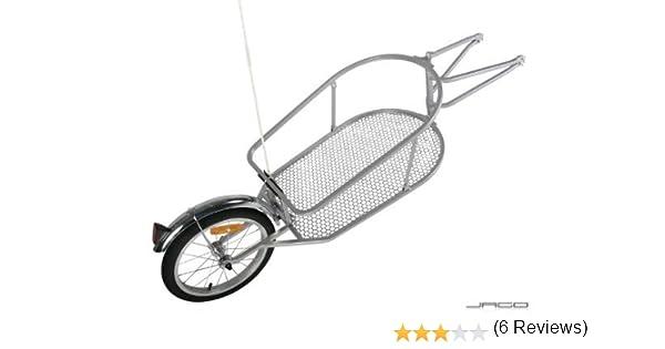 Jago FAH04 - Remolque de Transporte para Bicicleta con Saco de 90 ...