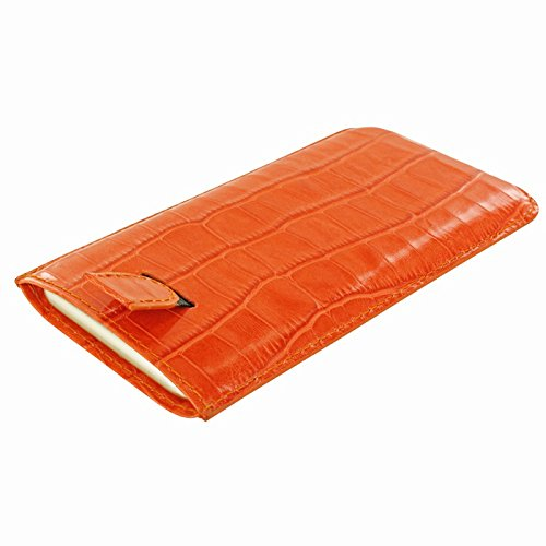 PIELFRAMA 690CON Pull Case Crocodile Apple iPhone 6 Plus in orange