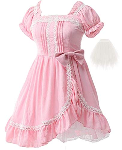 Topin Princess Lace Gothic Lolita Dress Sweet Girls Anime Cosplay Dresses 2020