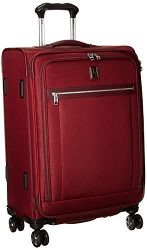 Travelpro Luggage Platinum Elite 25' Expandable Spinner Suitcase w/Suiter, Bordeaux