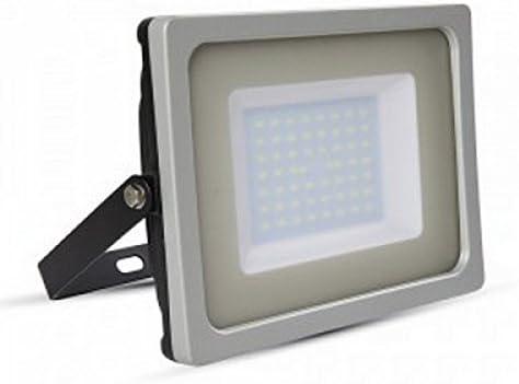 Proyector LED slim 50w 6400K 4250 lúmenes IP65: Amazon.es: Iluminación