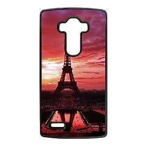 Plastic Durable Cover LG G4 Cell Phone Case Black Ofmsv Paris Eiffel Tower Durable Phone Case