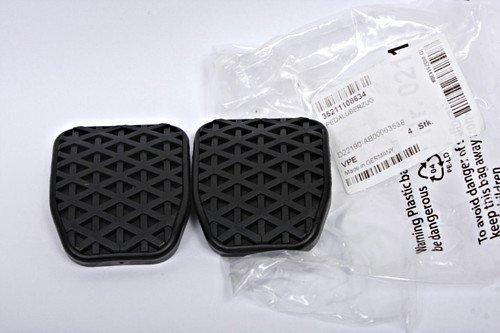 Original de BMW de goma almohadillas para freno embrague pedales Manual Transmisi/ón 35211108634