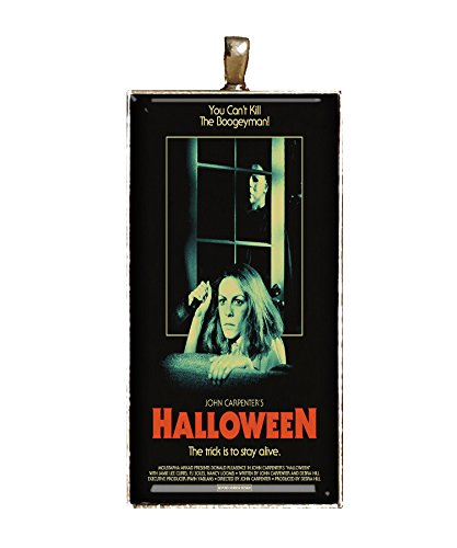 Halloween necklace death serial killer Michael Meyers pumpkins jewlery pendant charms gifts]()