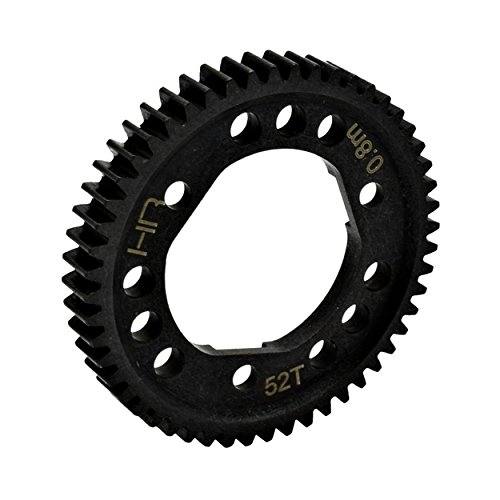 Hot Racing SSLF252D Steel Spur Gear for Center Diff (52T 0.8M/32P) - Tra 4x4 ()