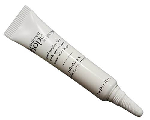 Philosophy Renewed Hope in a Jar Eye Refreshing & Refining Eye Cream 0.1 fl oz / 3 ml