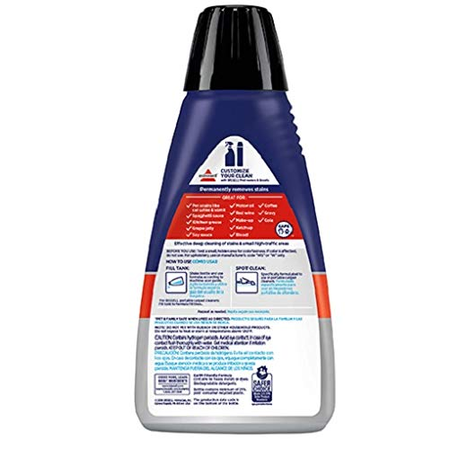 Bissell Professional Spot and Stain + Oxy Portable Machine Formula, 32 oz 32 Fl Oz