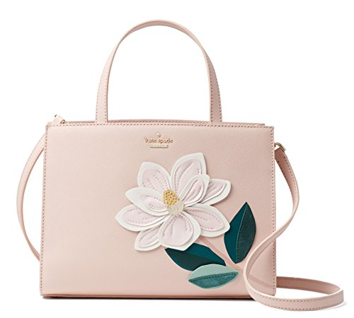 Kate Spade New York Swamped Magnolia Sam Leather Bag -Soft Pink Multi