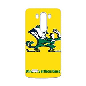 WEIWEI NCAA Notre Dame Fighting Irish Logo Cell Phone Case for LG G3