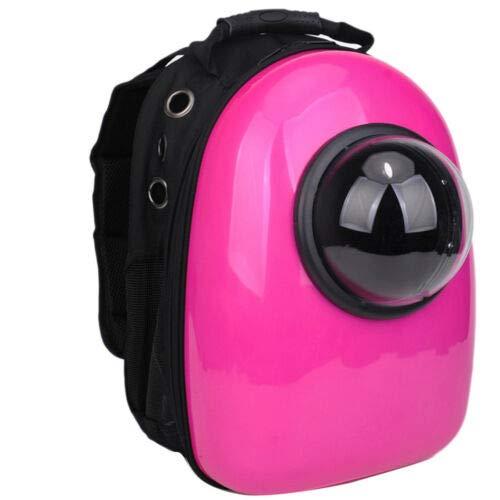 1  pink Red Bubble Pet Carriers FidgetGear Pet Portable Carrier Space Capsule Backpack Bubble Pet Carriers Traveler Bag 1  pink Red Bubble Pet Carriers