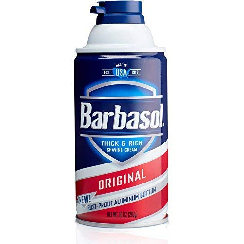 Barbasol Original Shave Cream Multipack | 12x 10oz cans per case | $2.74 per can | Wholesale Mens Shave Cream | Great for Gyms, spas and Locker Room Facilities (Shaving Cream Case Pack)