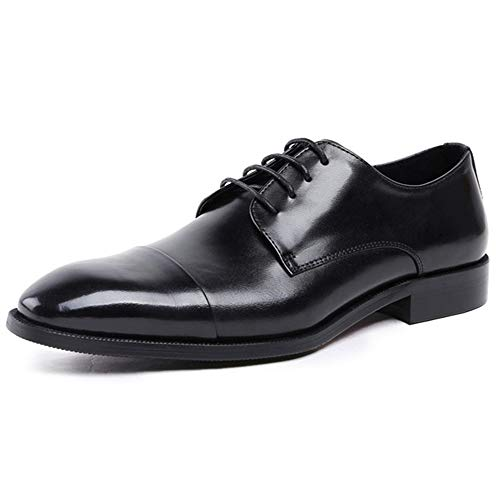 Negocios De 38 Negro 44 Moda Verano Hombre Zapatos Cuero Boda Vestir Black Uniforme Cordones Hombre Rojo Brogue Calzado Oxford qt4awaPA