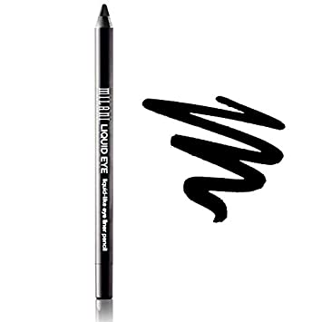 Milani Liquid Eye Liner Pencil, Black, 3 Pack