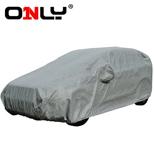 Only® Innovative Car Cover - Completed Within a Minute, Waterproof to a Certain Extent, Breathable Series S for Sedan. (S-50 Length 191'' to 197'')