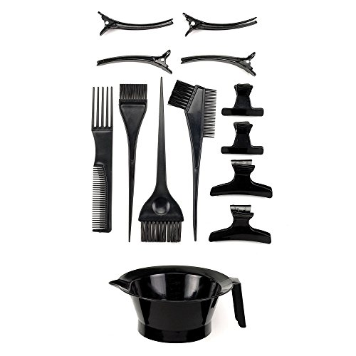 Top Performance 14-Piece Hair Dye Accessories Kits for Dog Grooming