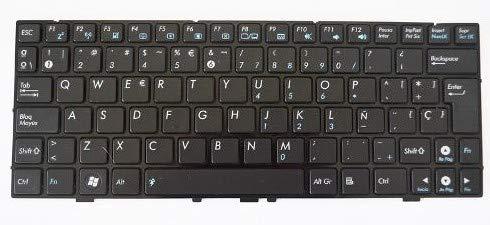 Asus 04GOA0U2KSP10-3 Teclado refacción para notebook - Componente para ordenador portátil (Teclado, Español, Netbook Eee PC 1000HA Netbook Eee PC 1000HE): ...