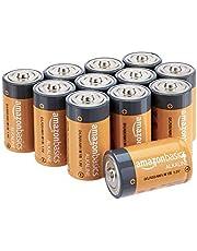 AmazonBasics D Cell 1.5 Volt Everyday Alkaline Batteries