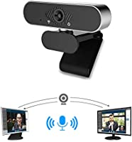 USB Webcam,RSPIC 1080P HD Webcam with Microphone,Streaming Web Camera for Desktop Laptop Video Calling Conference Student...