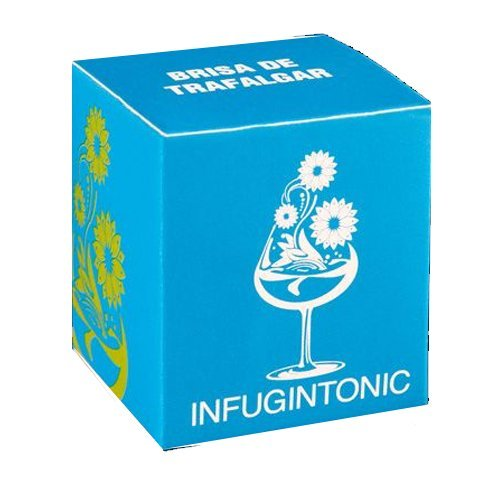 Trafalgar Breeze Refill 12 Handmade Gin Tonic ''Tea Bags'' Spice Mix Gin Flavoring Vodka Rum - Lemon and Orange Peel, Orange Chips
