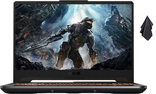 2021 ASUS TUF 15.6″ FHD Premium Gaming Laptop, 10th Gen Intel Quad-Core i5-10300H, 16GB RAM, 1TB SSD, GeForce GTX 1650Ti 4GB GDDR6, RGB Backlit Keyboard, Win10 Home+Oydisen Cloth