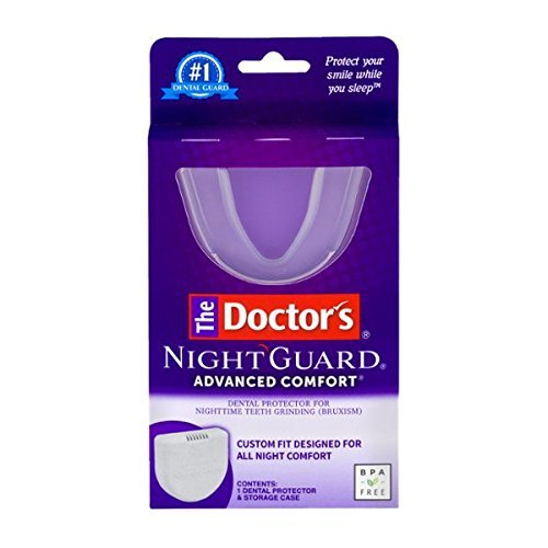 Doctors Nightguard Teeth - The Doctor's NightGuard Advanced Comfort Dental Protector for Teeth Grinding, by Doctor's
