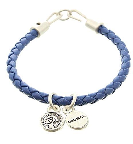 Diesel ASANTY Woven Bracelet, Unisex, Blue