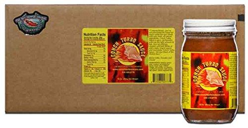 Conch Turbo Original Recipe Sauce - Case of Pints