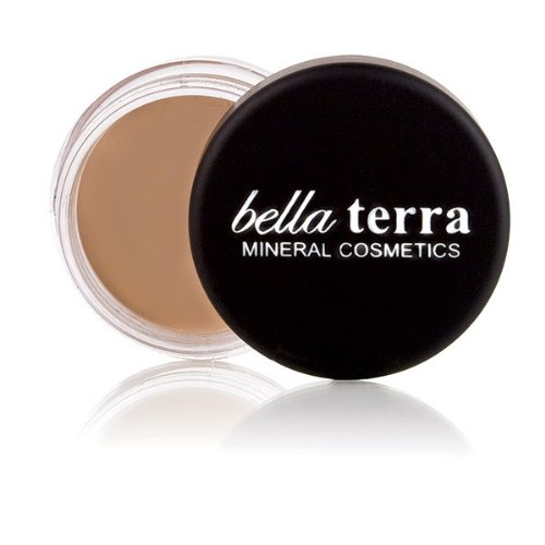Bella Terra Eye Primer | All-day Eye Shadow Base |Eyelid Concealer for Dark Circles and Veins | Fragrance-Free for Sensitive Skin (.32 ounce)
