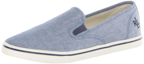 Lauren Ralph Lauren Women's Janis Fashion Sneaker,Blue,11 B - Sale Lauren Ralph Womens