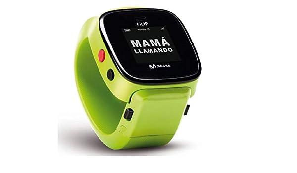 Filip SmartWatch G2 (EF002), para Niños,Movistar,Color Verde ...