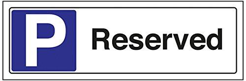 Cartel de aparcamiento reservado VSafety 74036AX S con texto ...