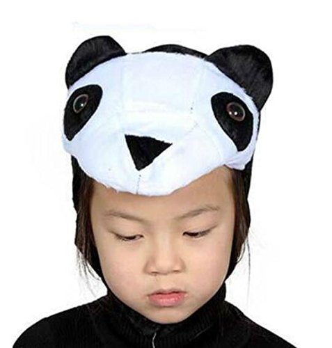 Goodscene Party decoration accessories Cute Kids Performance Accessories Cartoon Animal Hat (Panda) by Goodscene