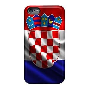 Apple Iphone 6 Hwp13384Mcea Customized Realistic Croatia Skin Protector Hard Phone Cases -JoannaVennettilli