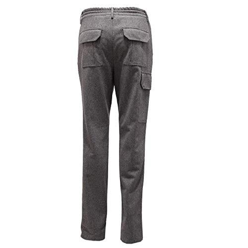 Trouser CUCINELLI Wool Grigio Men uomo 4167X Pantalone BRUNELLO Grey xYdR46w6q