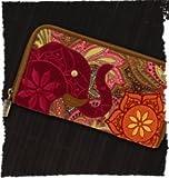 Karma Boho Elephant Henna Wallet