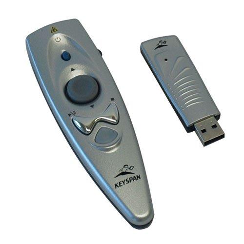 - Keyspan by Tripp Lite PR-US2 Presentation Remote Wireless w Laser, Mouse