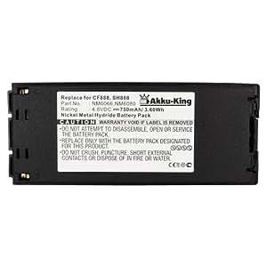 Akku-King Ni-MH batería para Ericsson 688 / A1018s / GA-688 / GH-688 / S868 / SH-888 / R280 / I888 / AH600 - como NM-2100 - 750mAh