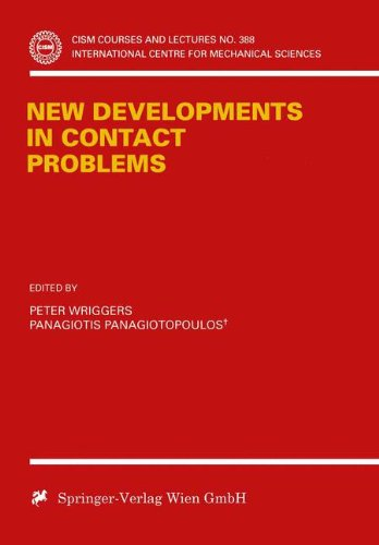 New Developments in Contact Problems (CISM International Centre for Mechanical Sciences)