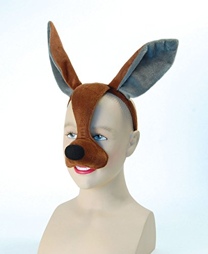 Children's Kangaroo Mask On Headband With Sound