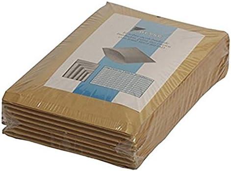 Paquete 100 Bolsas Acolchadas Sam 146093 con PL/ÁSTICO Burbuja Interior 180X165MM Exterior 190X170MM