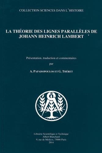 La théorie des lignes parallèles de Johann Heinrich Lambert