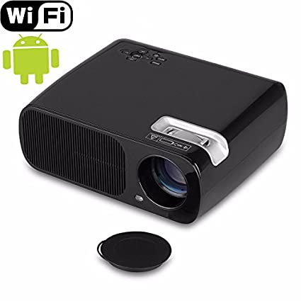 mileagea WiFi Android 4.4 Proyector LED Full HD 2600 lumens ...