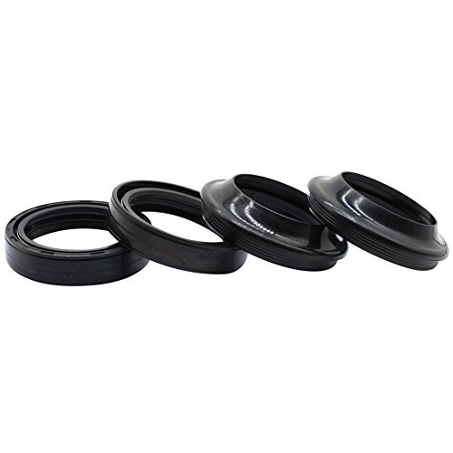 Cyleto Front Fork Oil Seal and Dust Seal Kit 35 x 48 x 11mm for Honda CB750F CB750 F Super Sport 1975-1980 / CB750K 1972-1982 / CB750L CB750 L 1979 by Cyleto (Image #3)