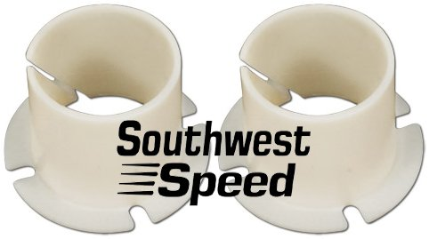 Southwest Speed New 55-57 Chevy Factory Replacement Nylon BUSHINGS for The Clutch Pedal Cross Shaft, TRI-5, 1955 1956 1957 150 210 BEL AIR Nomad Sedan DELIVERY DEL RAY