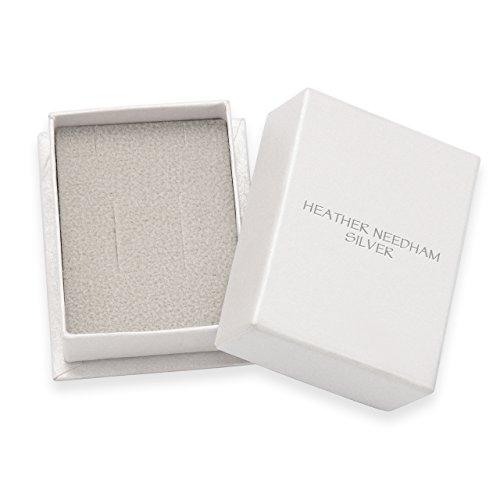 Heather Needham Silver 5350 Clous d'oreille X et O en argent sterling 6mm -